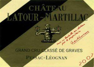 Vins du Chateau Latour Martillac